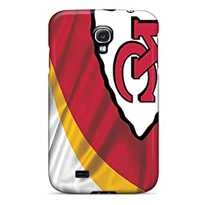 New Cute Funny Kansas City Chiefs Case Cover/ Galaxy S4 Case Cover