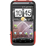 Trident Case Aegis Protective Case for HTC ThunderBolt - 1 Pack - Carrying Case - Retail Packaging - Red