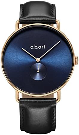 abart FA41-012 Blue Dial Swiss Brand Ronda Quartz Movement Mesh Band Blue Watches for Men