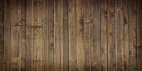 Baocicco 12x10ft Photography Backdrop for Shabby Rustic Retro Wooden Plank Board Background Pets Foods Clothes Models Photo Shooting Wall Photographic Backdrop PhotoCall Studio Video Props
