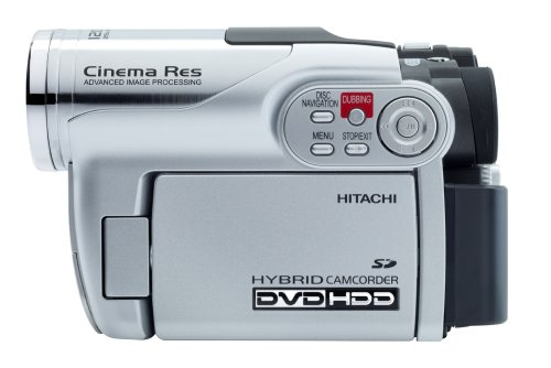 amazon com hitachi dzhs300a dvd hybrid camcorder with 25x optical rh amazon com
