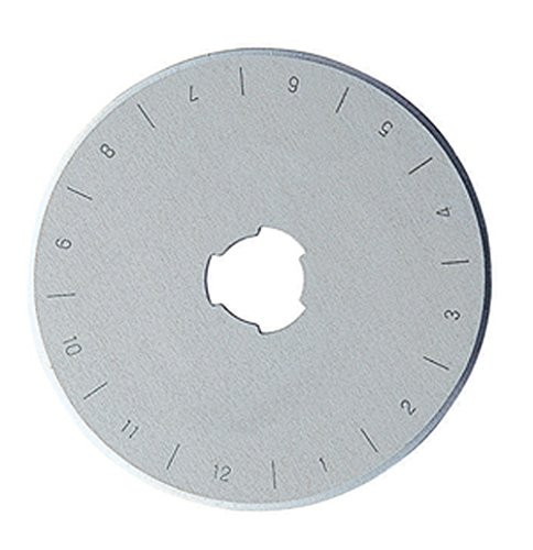 DAFA 60 millimetri Lama di ricambio della taglierina rotativa, argento 60mm dafa blades