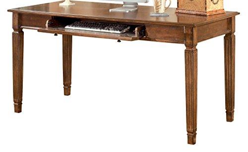 Ashley Furniture Signature Design - Hamlyn Home Office Desk - 60 in - Medium Brown - High End Contemporary Furniture