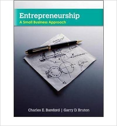 [(Entrepreneurship: A Small Business Approach )] [Author: Charles E. Bamford] [Mar-2010]