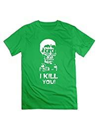 Memoy Men's Jeff Ventriloquy Skull T Shirts Latest 3X ForestGreen