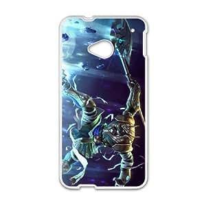 HTC One M7 phone case White Nasus league of legends DDD5322272