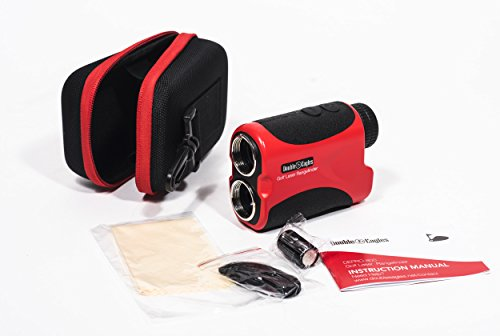Kozyvacu Double Eagles Depro-600 Golf Laser Range Finder With Pin Sensor, Laser Binoculars, Free Battery, Water Proof by Kozyvacu (Image #3)