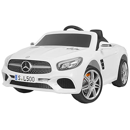 Uenjoy 12V Ride On Car One Seater Licensed Mercedes-Benz SL5