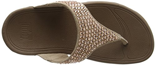 137 Toe Glitzie Fitflop Ouvert Bout Sandals Femme Beige thong nude 6ZSqw4