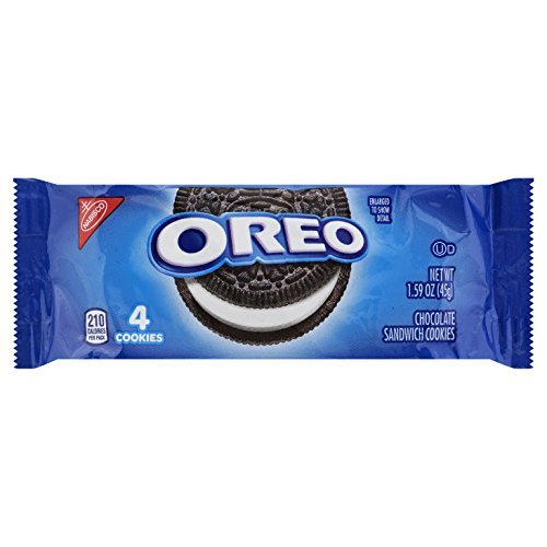 Oreo Chocolate Sandwich Cookies, 1.59 Ounce (Pack of ()