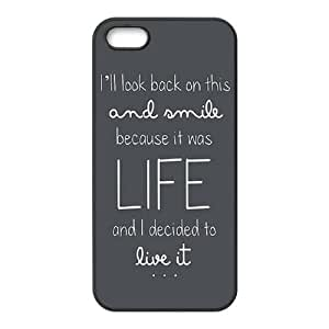 iPhone 5 5s Cell Phone Case Black Ed Sheeran Quotes