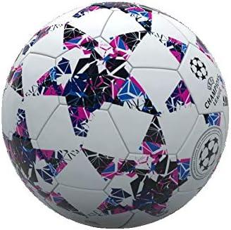 MONDO-13844 Balón fútbol Cuero Champions League, Multicolor (13844 ...