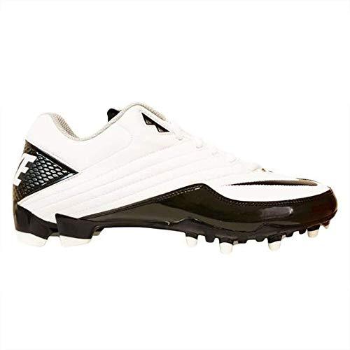 Nike Super Speed TD Men's Football Cleats (16 D(M), White/Black)