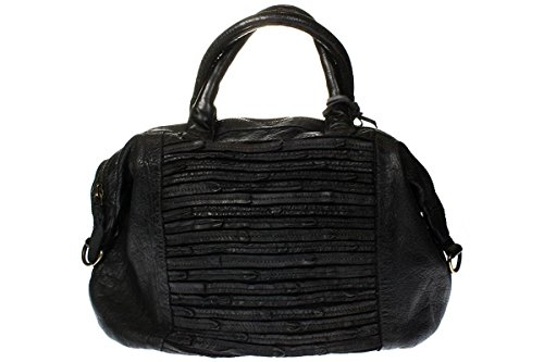 Bull and Hunt, Borsa tote donna nero nero
