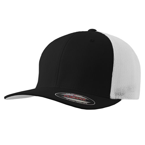 The Original Flexfit Yupoong Mesh Trucker Hat Cap & 2-Tone - Many Colors