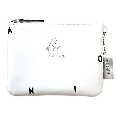 Moomin by Mozo icona in pelle, colore bianco