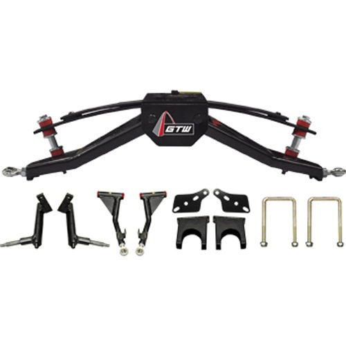 Club Car DS 6'' Double A-Arm Golf Cart Lift Kit (Fits 2004.5 and Up, Gas or Electric)