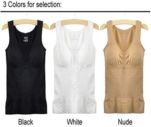 Lxbin FeelinGirl Womens Body Shaper Bra Shapewear Tank Top Slimming Camisole Black XL