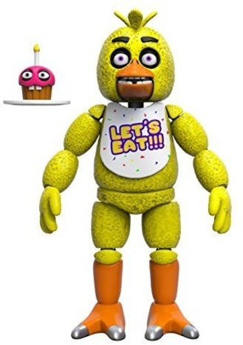 Funko Five Nights at Freddy's Articulated Chica Action Figure, 5-inch by Funko