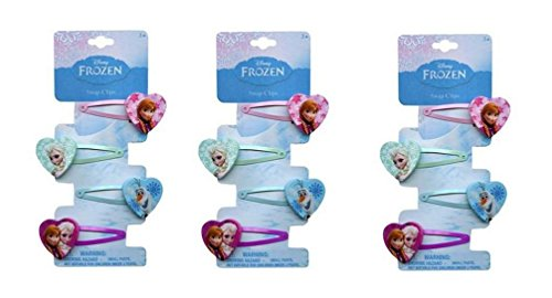 Disney Frozen Hair Clip pack