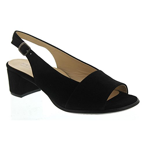 Hassia Women's 313942-0100 Fashion Sandals Black Size: 7 UK s6LyTn