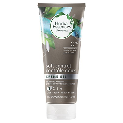 Herbal Essences Bio-Renew Soft Control Crème Hair Gel, 6.0 Fl (Gel Herbal Styling Gel)