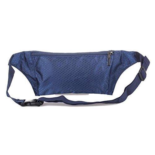 SODIAL(R)Taillen Guerteltasche Bauchtasche mit Verstellbarem Guertel