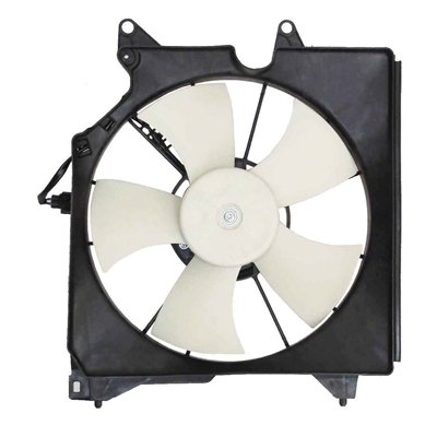 MAPM Premium Quality RADIATOR FAN ASSEMBLY; FITS ON DRIVER SIDE by Make Auto Parts Manufacturing