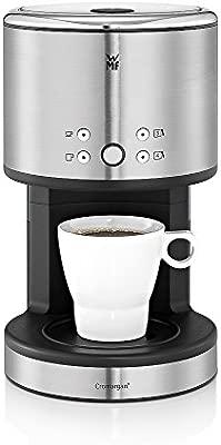 WMF Aromaone Kitchenminis Coup Cafetera de filtro, 900 W, 0.5 litros, Acero Inoxidable, Cromargan Mate, Negro