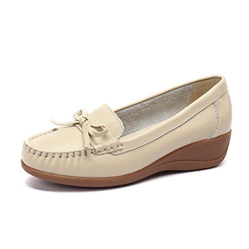 scarpe M soia e Donna donna Slopes calzatura Light casual 38 fagioli Autunno di Calzature bianco singole scarpe con Aemember Flagship UPnzAA
