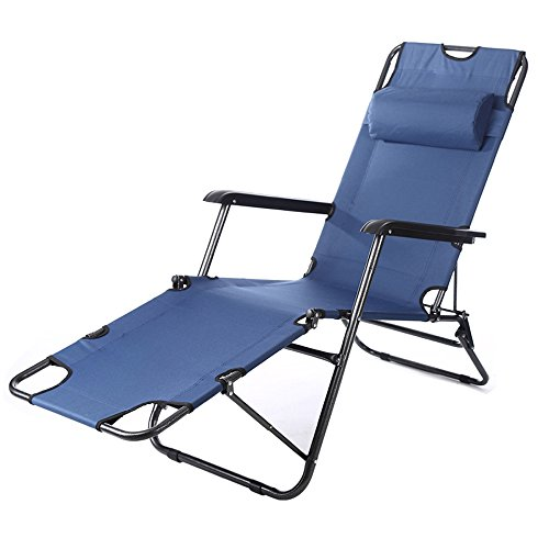 YAXIAO-Folding chair Folding Leisure Chair Folding Bed Folding Chair Single Bed Lunch Break Office Camping Bed Simple…