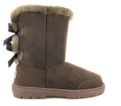 Brown 7 Beau 4 6 Ella 3 Winter Womens Lined Comfortable 7 Boot 8 UK Faux Fur Ladies 5 Size 11UqTxOH