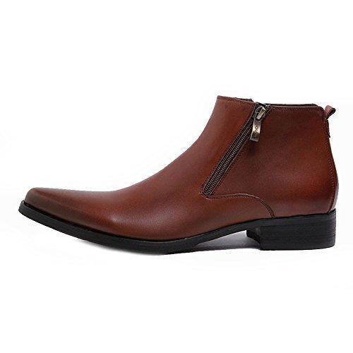 Chelsea Marrone Boots Nero Uomo Fulinken dxq4Id