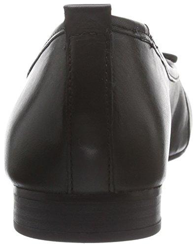 Black 22114 Damen Ballerinas Schwarz 001 Geschlossene Tamaris xaXq4gBx