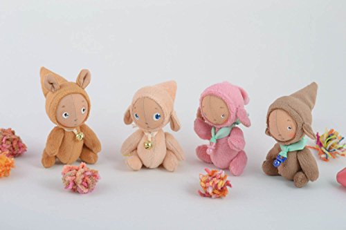 Set Of 4 Handmade Toys Babies Toys Homemade Crafts Unique Toys Kids Gifts
