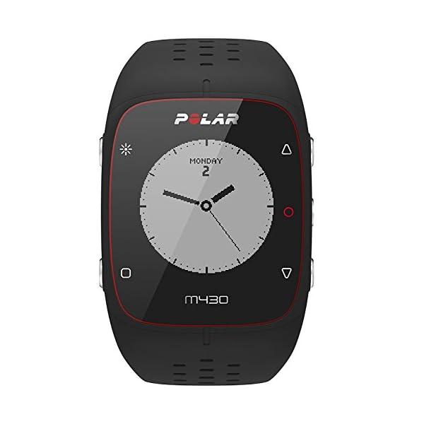 Polar – M430 – Montre running GPS avec suivi de la fréquence cardiaque