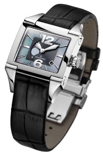 Candino Candino Moon C4360-6 - Reloj analógico de mujer de cuarzo con correa de piel negra - sumergible a 50 metros: Amazon.es: Relojes