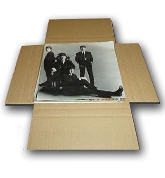 """CUIDATUMUSICA 25 Cajas Embalaje y Envío para Enviar Discos de Vinilo Singles 7"""" (Los"""