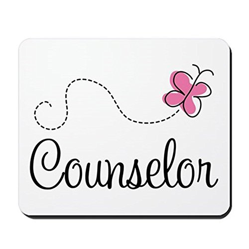 Gaming Mouse Pad for Notepad Cute Counselor Non-slip Rubber School Desk Decor Mouse Pad for Laptop 10 x 8 Inch by Yrmsun