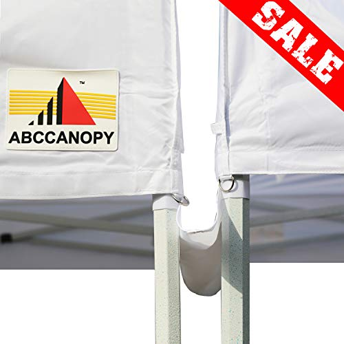 ABCCANOPY Seasonal Offers Canopy Accessories 10 Foot Canopy Rain Gutter/Light Gutter for 10 X 10 Canopy Pop up Tent (White)