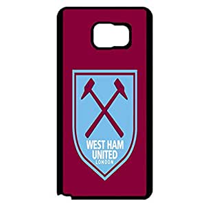 Classical Design West Ham United Football Club Phone Case Cover for Samsung Galaxy Note 5 West Ham Perfect