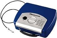 SentrySafe P008EBL Electronic Compact Safe, 0.08 Cubic Foot (Blue)