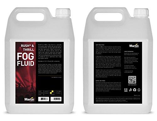 - Martin Rush Fluid for Fog Effects Generators, 4 x 5L (case of 4)