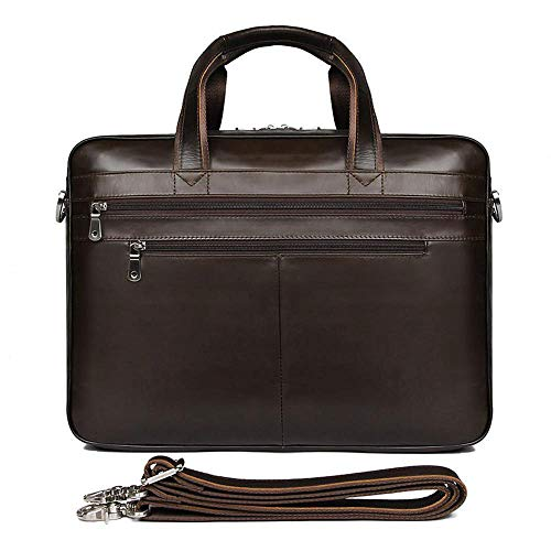 Pacchetto Grande Aria 15 Mans 6 Fashion Pollici Borsa Business Pelle Circlefly In POfSTwfq