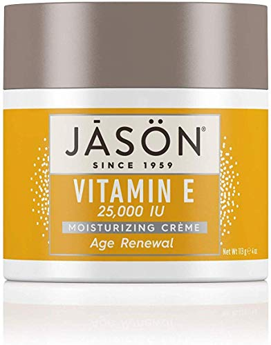 2012 Iu Vitamin - JASON Age Renewal Vitamin E 25,000 IU Moisturizing Crème, 4 Ounce Container (Pack of 2)