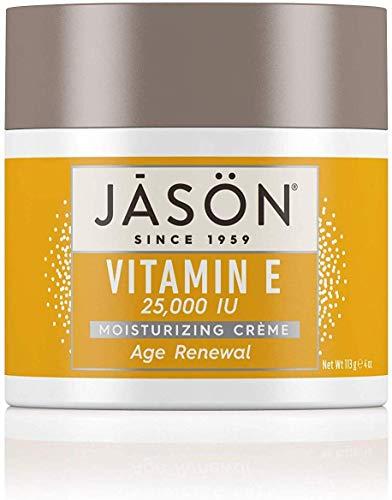 JASON Age Renewal Vitamin E 25,000 IU Moisturizing Crème, 4 Ounce Container (Pack of 2) (Best Teenage Spot Cream Uk)