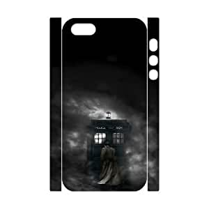 3D Doctor Who Series, For SamSung Galaxy S6 Phone Case Cover Doctor Who Police Box Abstract Silhouette For SamSung Galaxy S6 Phone Case Cover [White]