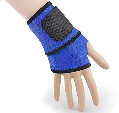 Cdet 1X Pulsera de entrenamiento algodón banda de sudor de muñeca deportes baloncesto wristband sweatband Interior al aire libre yoga dance ejercicio