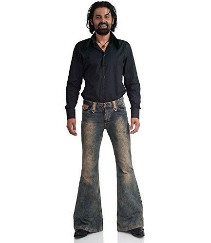 Dirty Basic Uomo Comycom Blau Campana Jeans Blue q8EqTIaw