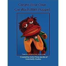Create Your Own Car Wash Mitt Puppet